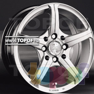 Колесные диски Racing Wheels (RW) Classic H232. Изображение модели #1
