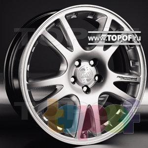 Колесные диски Racing Wheels (RW) Classic H238. Изображение модели #1