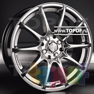 Колесные диски Racing Wheels (RW) Classic H242. Изображение модели #1