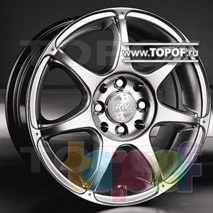 Колесные диски Racing Wheels (RW) Classic H249. Изображение модели #1