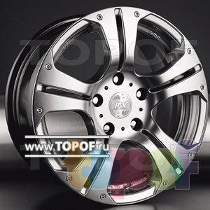 Колесные диски Racing Wheels (RW) Classic H259. Изображение модели #1