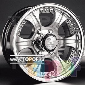 Колесные диски Racing Wheels (RW) Classic H266. Изображение модели #1