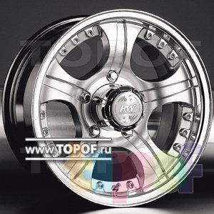 Колесные диски Racing Wheels (RW) Classic H267. Изображение модели #1