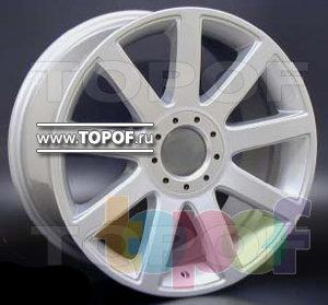 Колесные диски Racing Wheels (RW) Classic H274. Изображение модели #1