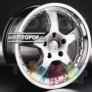 Колесные диски Racing Wheels (RW) Classic H291. Изображение модели #1