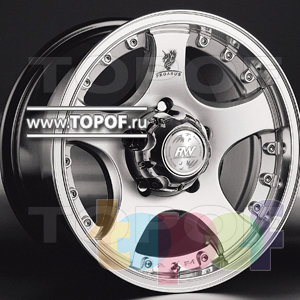 Колесные диски Racing Wheels (RW) Classic H323