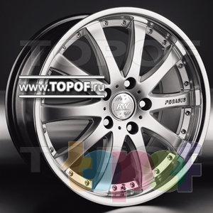 Колесные диски Racing Wheels (RW) Classic H332. Изображение модели #1