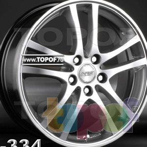 Колесные диски Racing Wheels (RW) Classic H334. Изображение модели #1