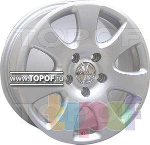 Колесные диски Racing Wheels (RW) Classic H342. Изображение модели #1