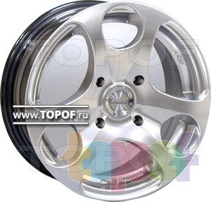 Колесные диски Racing Wheels (RW) Classic H344. Изображение модели #1