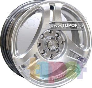 Колесные диски Racing Wheels (RW) Classic H345. Изображение модели #1