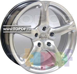 Колесные диски Racing Wheels (RW) Classic H348. Изображение модели #1