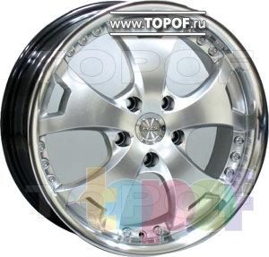 Колесные диски Racing Wheels (RW) Classic H353. Изображение модели #1