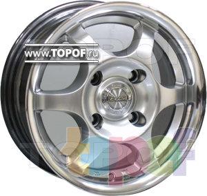 Колесные диски Racing Wheels (RW) Classic H354. Изображение модели #1