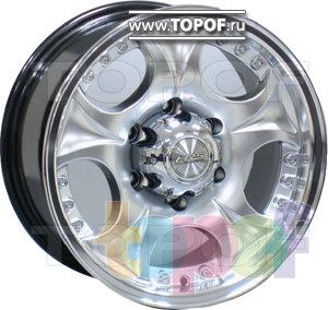 Колесные диски Racing Wheels (RW) Classic H355. Изображение модели #1