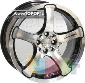 Колесные диски Racing Wheels (RW) Classic H375. Изображение модели #1