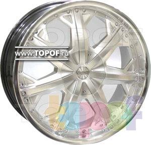 Колесные диски Racing Wheels (RW) Classic H378. Изображение модели #1