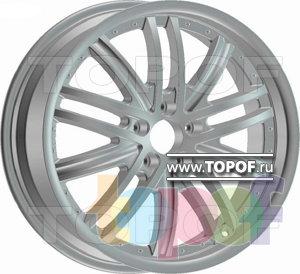 Колесные диски Racing Wheels (RW) Classic H397. Изображение модели #1