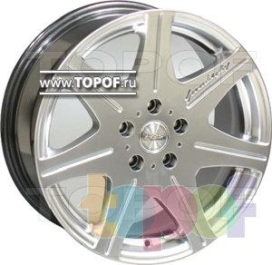 Колесные диски Racing Wheels (RW) Classic H399. Изображение модели #1