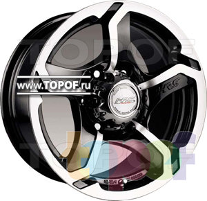 Колесные диски Racing Wheels (RW) Classic H409. Изображение модели #1