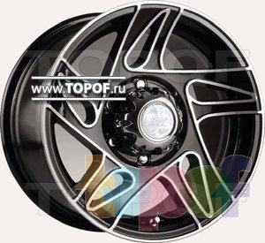 Колесные диски Racing Wheels (RW) Classic H417. Изображение модели #1