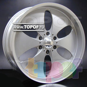 Колесные диски Racing Wheels (RW) HF 608. Изображение модели #1