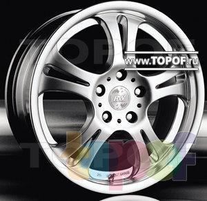 Колесные диски Racing Wheels (RW) Premium H-106. Изображение модели #1