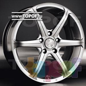 Колесные диски Racing Wheels (RW) Premium H-116. Изображение модели #1