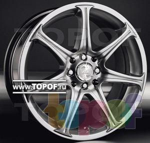 Колесные диски Racing Wheels (RW) Premium H-134. Изображение модели #1