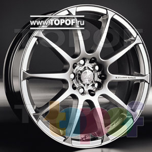 Колесные диски Racing Wheels (RW) Premium H-158. Изображение модели #1