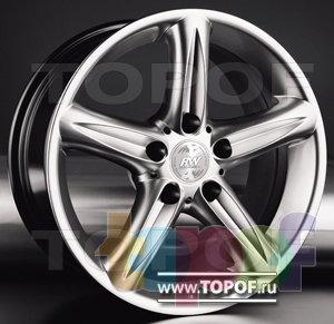Колесные диски Racing Wheels (RW) Premium H-166. Изображение модели #1