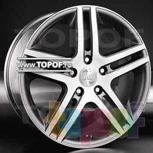 Колесные диски Racing Wheels (RW) Premium H-214. Изображение модели #1