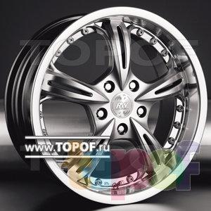 Колесные диски Racing Wheels (RW) Premium H-255