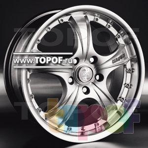 Колесные диски Racing Wheels (RW) Premium H-281. Изображение модели #1