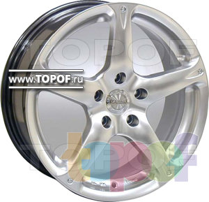 Колесные диски Racing Wheels (RW) Premium H-348. Изображение модели #1