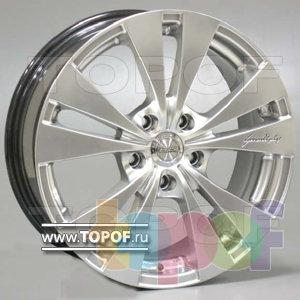 Колесные диски Racing Wheels (RW) Premium H-364. Изображение модели #1