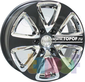 Колесные диски Racing Wheels (RW) Premium H-387. Изображение модели #1