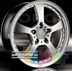 Колесные диски Racing Wheels (RW) Replica Mercedes BZ-01. Изображение модели #1