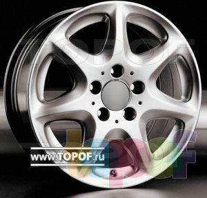 Колесные диски Racing Wheels (RW) Replica Mercedes BZ-20. Изображение модели #1