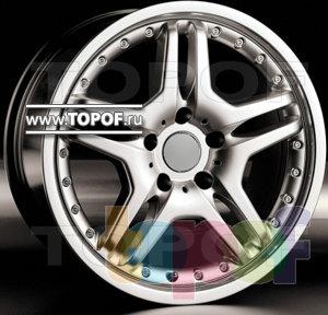 Колесные диски Racing Wheels (RW) Replica Mercedes BZ-21. Изображение модели #1