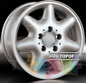 Колесные диски Racing Wheels (RW) Replica Mercedes BZ-23. Изображение модели #1