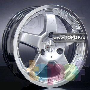 Колесные диски Racing Wheels (RW) Replica Mercedes BZ-26. Изображение модели #1