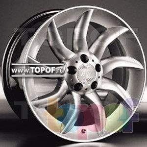 Колесные диски Racing Wheels (RW) Replica Mercedes BZ-30. Изображение модели #1