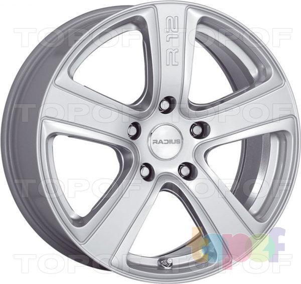 Колесные диски Radius R12. Silver Naked