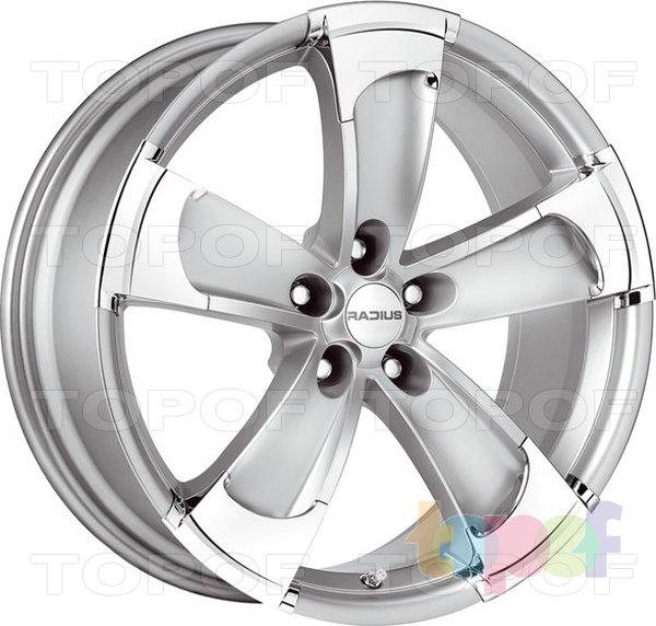 Колесные диски Radius R14. Изображение модели #1