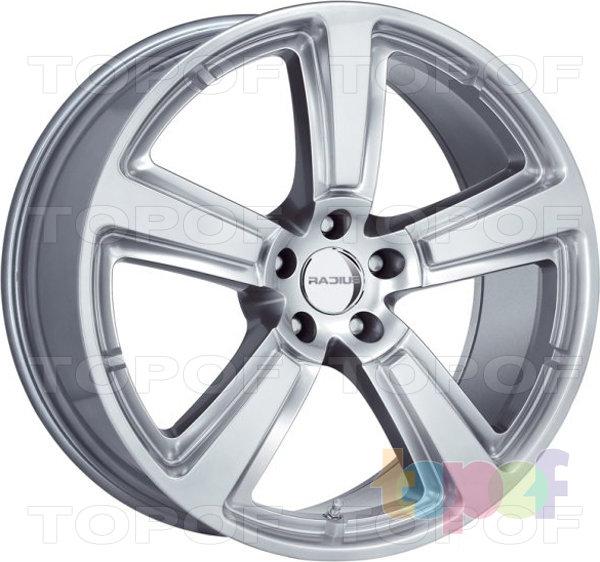 Колесные диски Radius R15. Silver