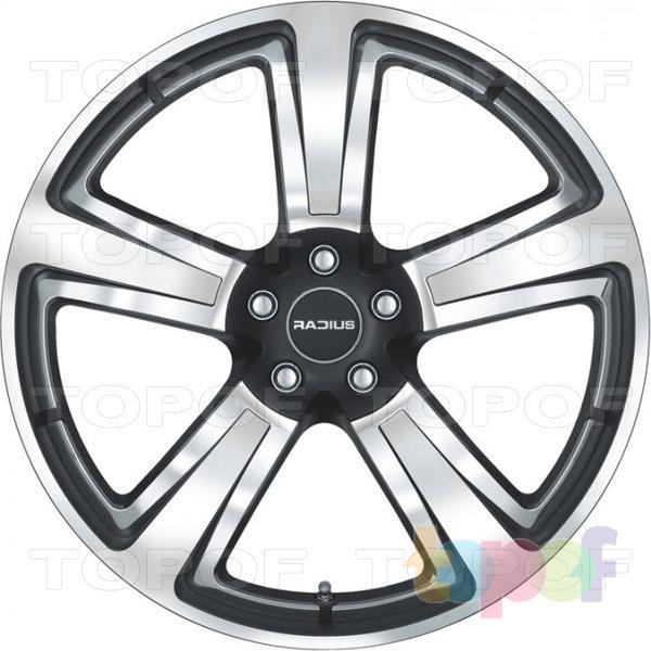 Колесные диски Radius R15. Tricolor