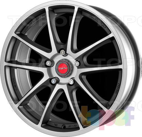 Колесные диски Raiden SC-1. Цвет Matt Gun Metallic