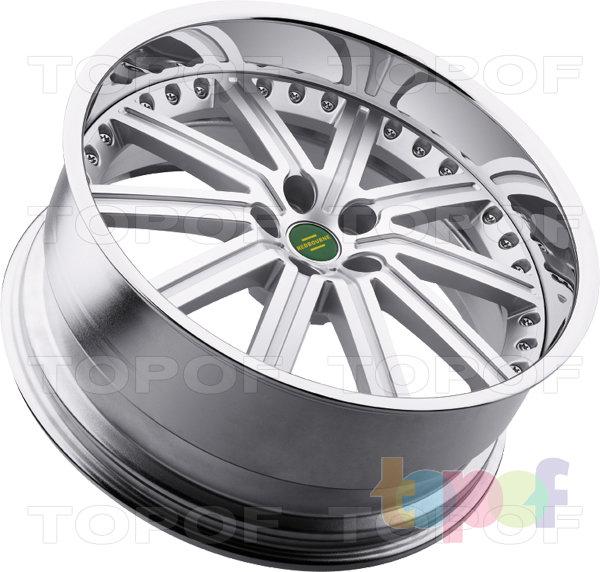 Колесные диски Redbourne Baron. Хромированный