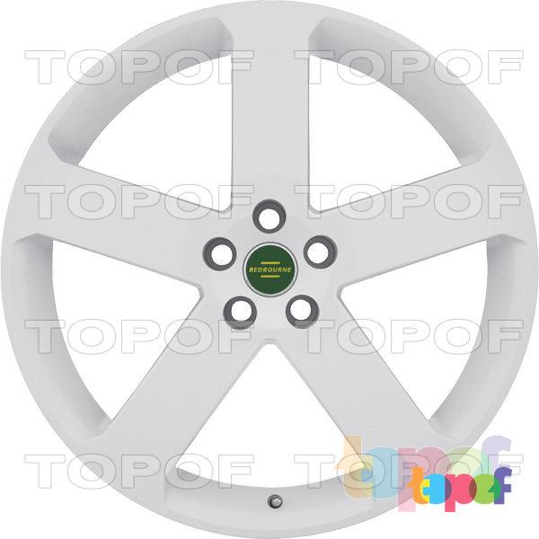 Колесные диски Redbourne Nottingham. Белый